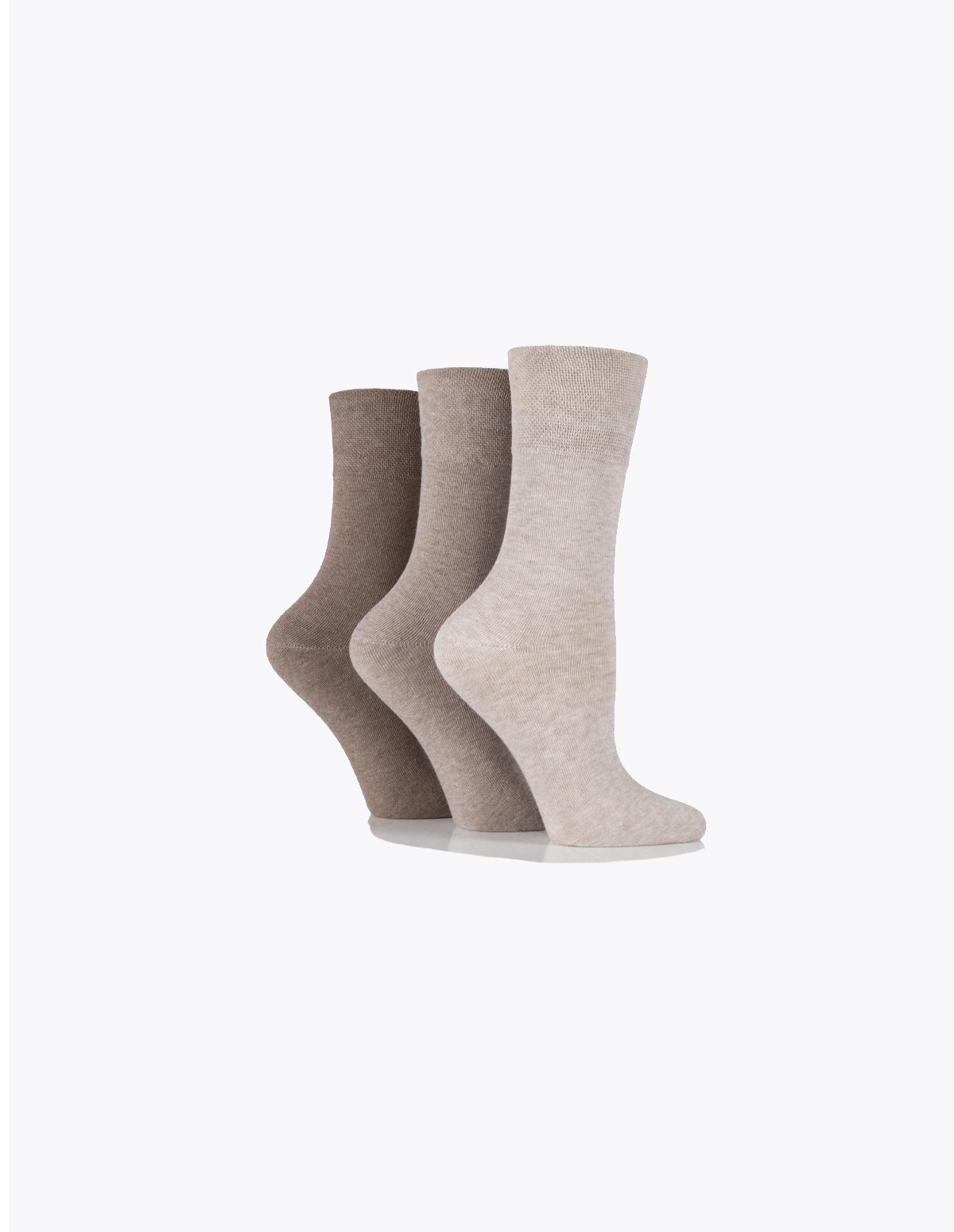 ca2af414b Ladies Skin Colour gentle grip socks (Non elastic   Diabetic friendly) -