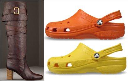 Chloe & Crocs scoop Shiny Style Shoe Awards!