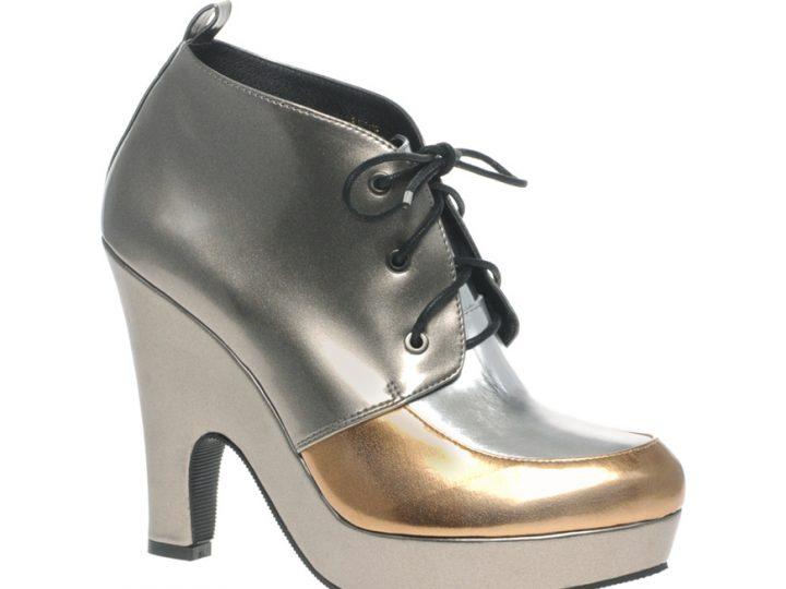 Ugly Shoe of the Week: Metallic mess