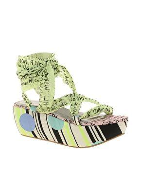 Ugly Shoe of the Week: ASOS scarf-tie sandals